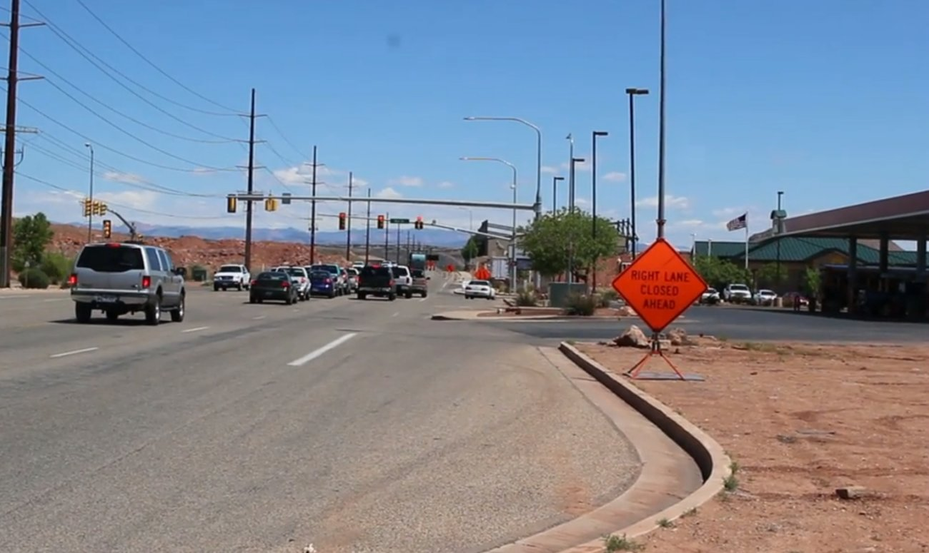 Cities officials are asking voters to approve Proposition 1 on the ballot in November. The ballot initative proposes a 0.25 percent increase in sales tax - 1 cent out of every $4 - go to transportation infrastructure and public transit funding, St. George, May 24, 2016 | Photo by Mori Kessler, St. George News