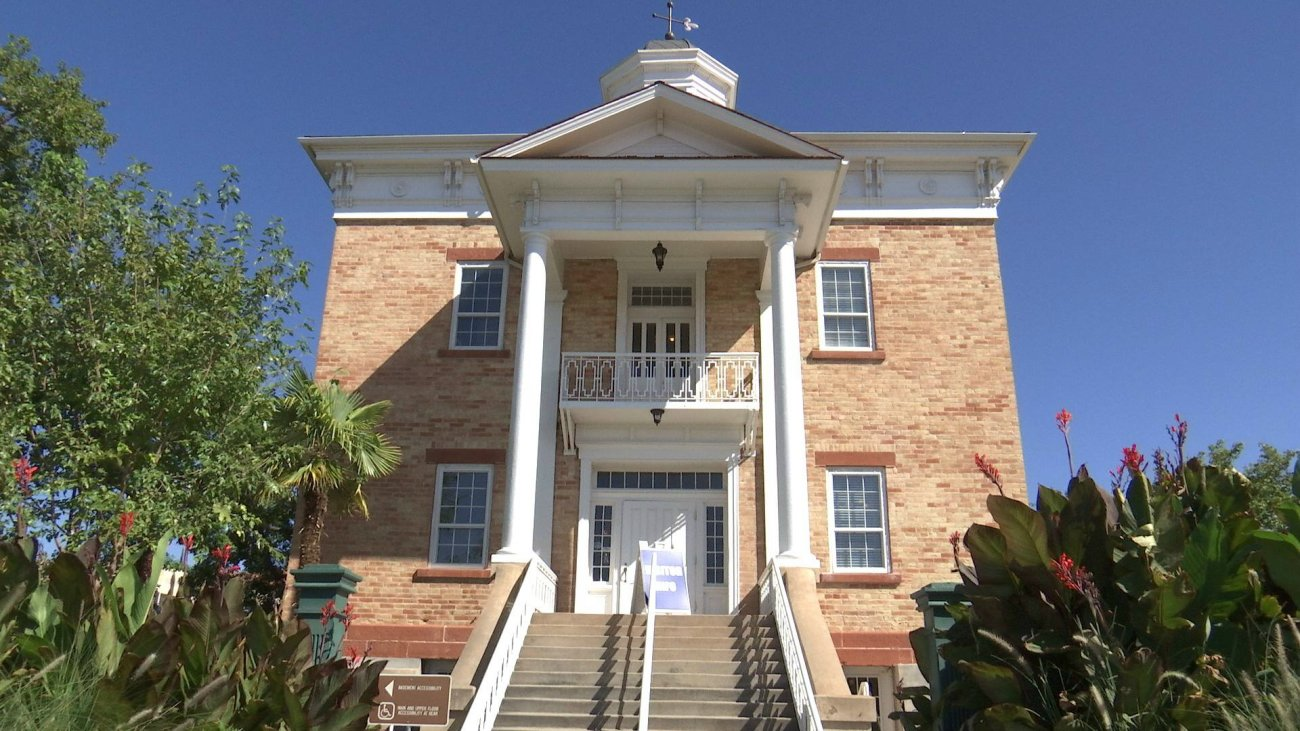 Historic Pioneer Courthouse in St. George Utah - StGeorgeNews.com