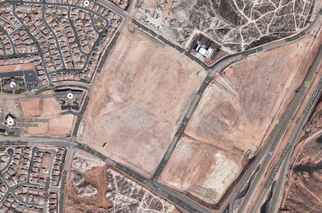 A proposed Hampton Inn hotal is slated for the area on Sunriver Parkway between Arrowhead Canyon Drive and Pioneer Road. The hotal is a bone of contention for some residents who are worried it will have a negative affect on the community. | Image render courtesy of CRSA via the City of St. George, St. George News