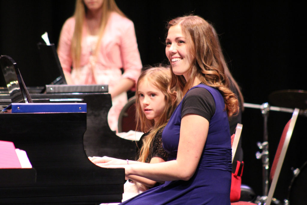 Performers at the Piano Monster Concert, Cedar City, Utah, Date not given | Photo courtesy of Southern Utah University, St. George News, Cedar City News