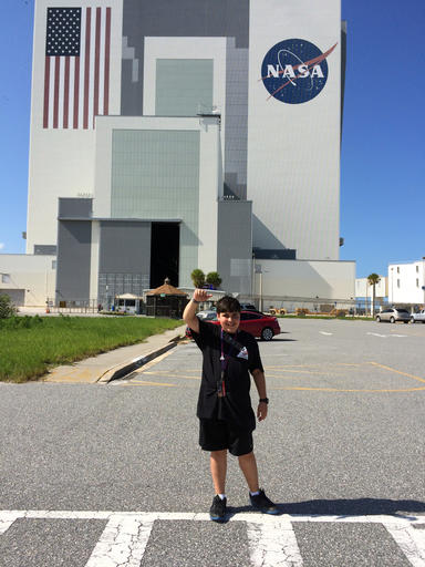 Mike Puzio of Greensboro, N.C. The twelve-year-old won a contest to name the asteroid, Bennu, that the first NASA explorer of its kind took off on a seven-year quest Thursday, Sept. 8, 2016, to chase after the unexplored asteroid to gather a few handfuls of gravel for return to Earth. Cape Canaveral, Florida, undated | Photo courtesy of Michelle Toler Puzio via AP, St. George News