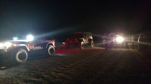 Six women in a Dodge pickup truck are rescued from the remote Slaughter Creek area Sunday night, Washington County, Utah, Sept. 25, 2016 | Photo courtesy Washington County Search and Rescue, St. George News