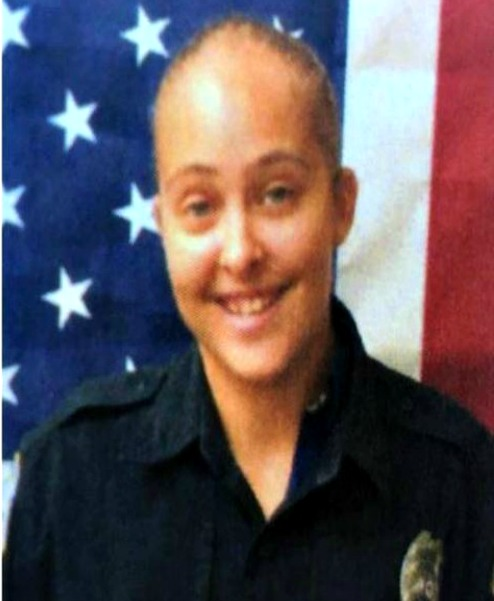 Long Beach officer Cassie Barker, who left her daughter, 3-year-old Cheyenn Hyer, in a vehicle for more than four hours, Longbeach, Mississippi, date unkn. | Photo provided by Blake Kaplan, Sun Herald News, St. George News