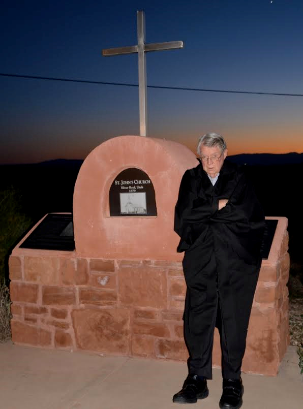 """A Silver Reef """"ghost"""" comes to life at Silver Reef Museum's """"Ghost Nights"""" historical walking tour, Leeds, Utah, circa October 2015   Photo courtesy of the Silver Reef Museum, St. George News"""