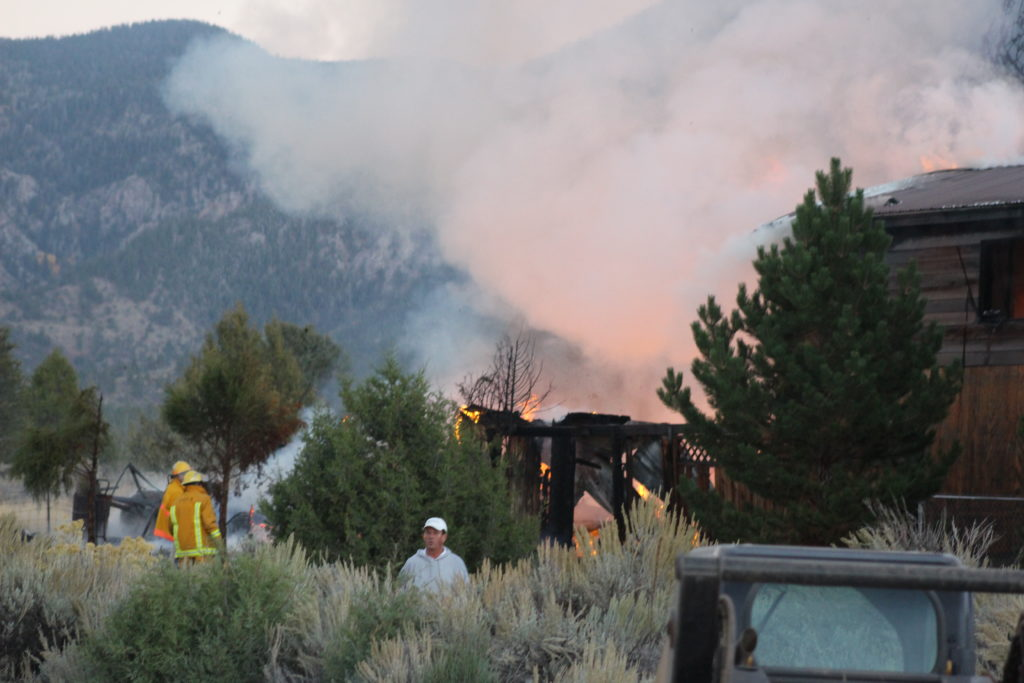 Fire destroys Pine Valley home - St George News