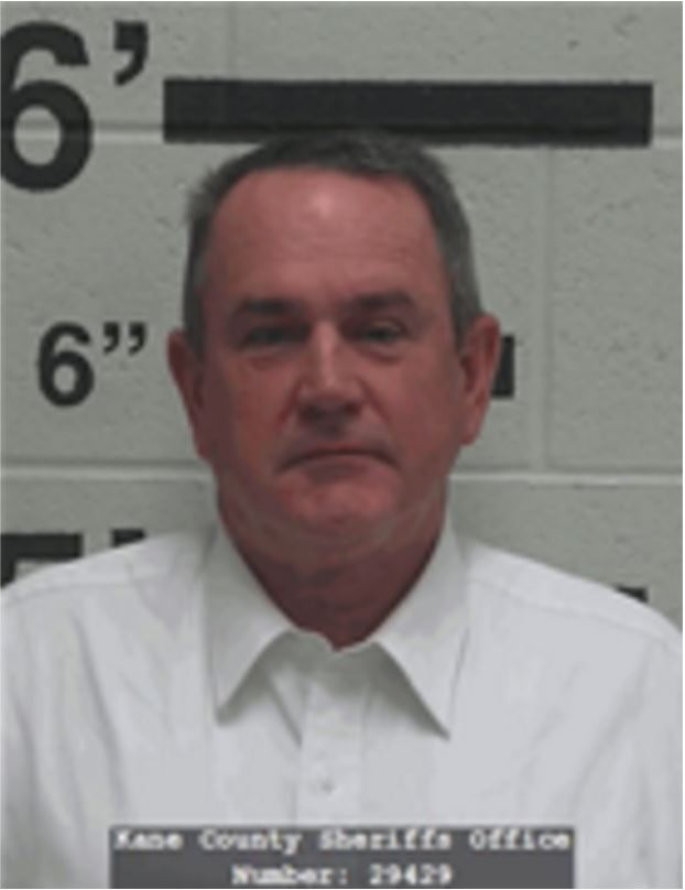 John Wayne Bramall, of Hurricane, Utah, booking photo posted Oct. 27, 2016 | Photo courtesy of the Kane County Sheriff's Office, St. George News
