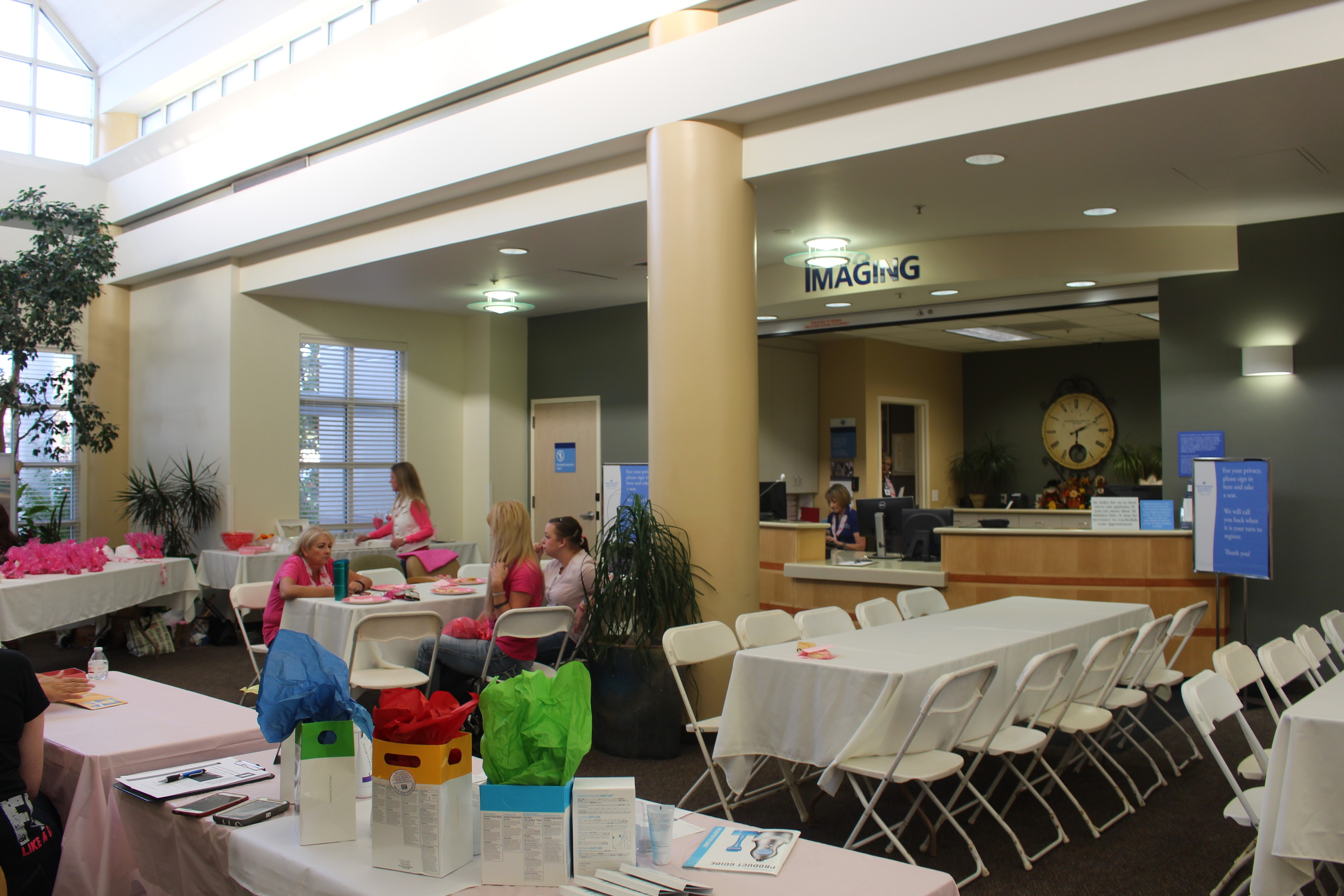Mammogram Party was held Wenesday at Dixie Regional Medical Center's InstaCare located on River Road Wednesday evening, St. George, Utah, Oct. 19, 2016 | Photo by Cody Blowers, St. George News