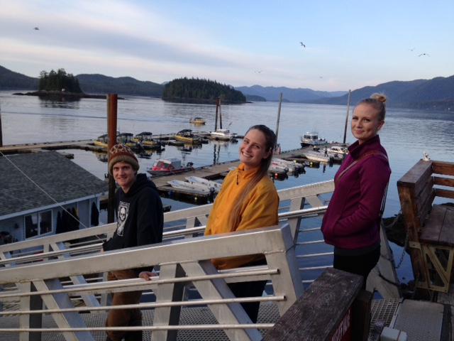 L-R: Forrest Hyde, Brooke Hyde and Macyn Christensen, three of Bryan Hyde's children, dockside in Ketchikan, Alaska, circa Sept. 27, 2016 | Photo courtesy of Bryan Hyde, St. George News