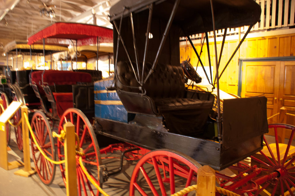 One of the carriages on display from Gronway Parry's collection, Frontier Homestead State Park Museum, Cedar City, Utah, August 2016 | Photo by Kathy Lillywhite, St. George News