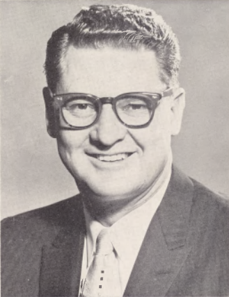 Former St. George Mayor William Barlocker as seen in the 1961 Lions Club Dixie Roundup program | Image courtesy of the Washington County Historical Society