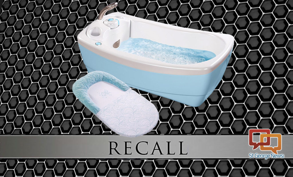 summer infant recalls baby bathtubs due to injury drowning risks st george news. Black Bedroom Furniture Sets. Home Design Ideas