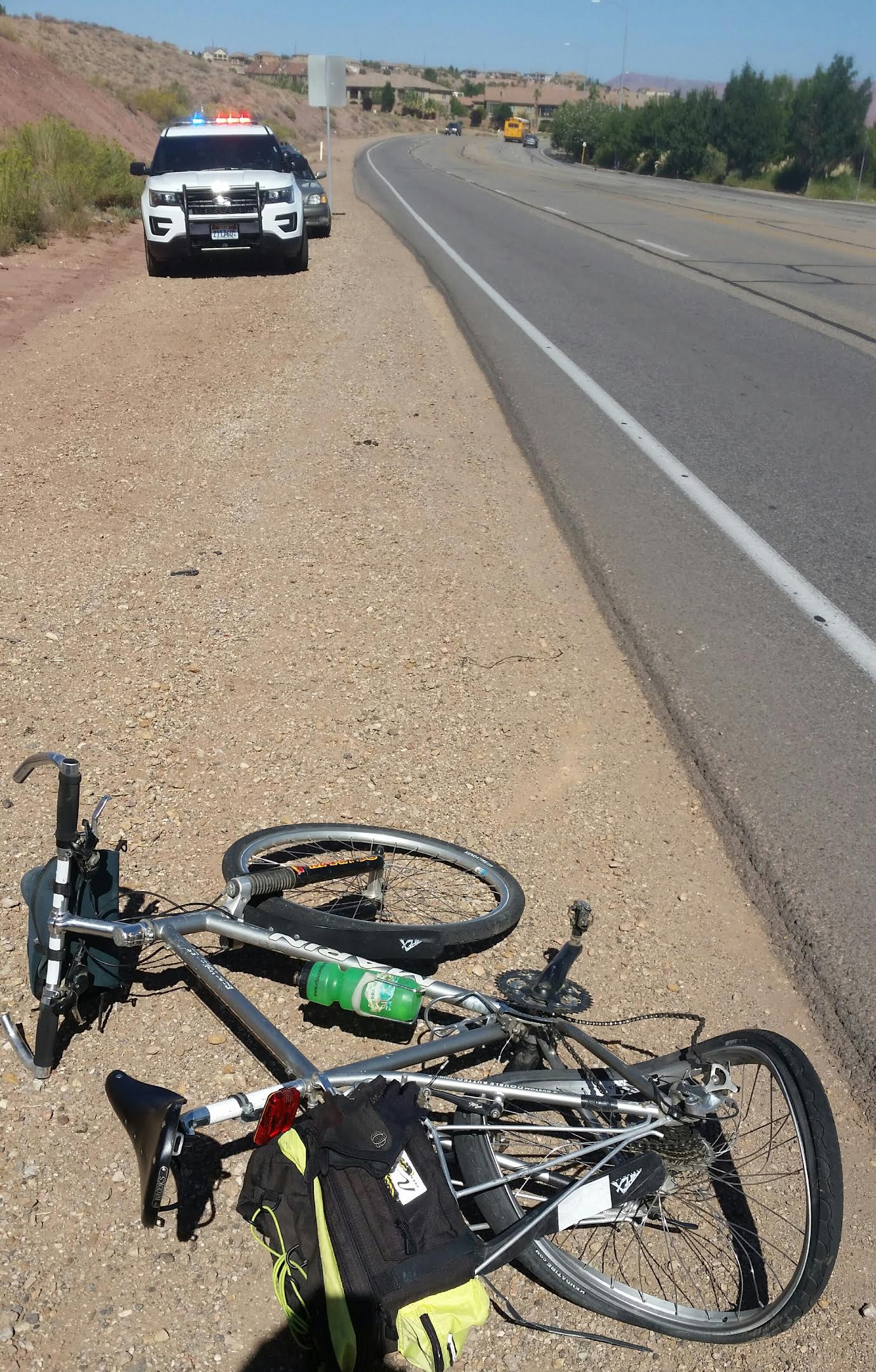 letter to the editor st george is dangerous for With bike accident letter