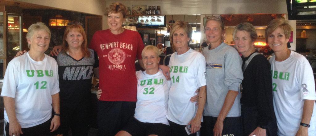 Marie Halpin (32) poses with teammates at the Huntsman World Senior Games, St. George, Utah, Oct. 6, 2016 | Photo courtesy Marie Halpin