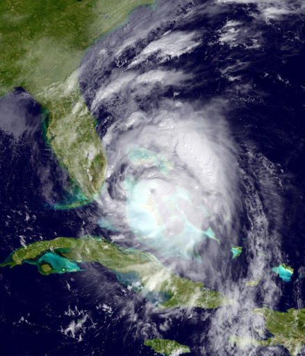 This GOES East satellite image provided by the National Oceanic and Atmospheric Administration (NOAA), shows Hurricane Matthew moving northwest of Cuba towards the Atlantic coast of southern Florida, Thursday, Oct. 6, 2016. Matthew was upgraded to a Category 4 hurricane late Thursday morning, with top sustained winds of 140 mph. The storm was blamed for more than 100 deaths in Haiti alone, and officials in Florida urged residents of the Sunshine State to prepare for what could be widespread and massive damage.   Map courtesy of NOAA via AP, St. George News