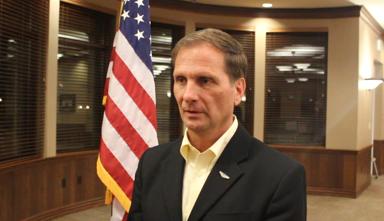 Rep. Chris Stewart, representing Utah's 2nd Congressional District, said he will vote for presidential Republican nominee Donald Trump despite having previously asking him to withdraw from the race in the wake of the release of an 11-year-old recording of Trump making crude comments about women, Santa Clara, Utah, Oct. 26, 2016 | Photo by Mori Kessler, St. George News