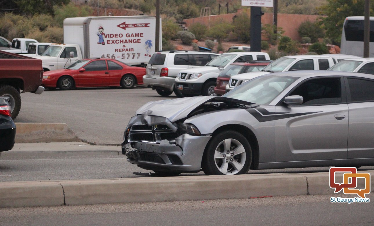 Rear End Collision Injures 1 St George News