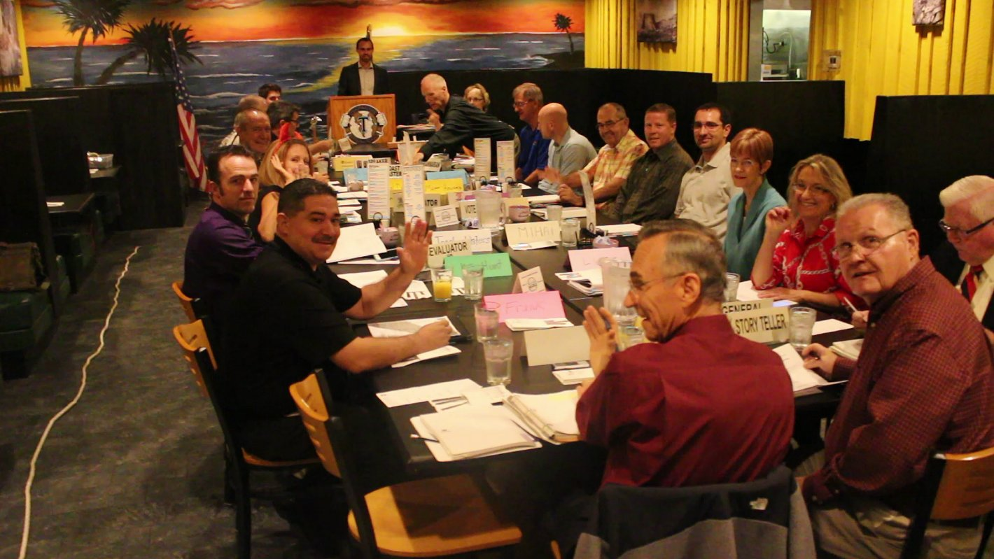 At a meeting of the Dixie Tub Thumpers ToastmastersClib, St. George, Utah, Oct. 31, 2016 | Photo by Mike Cole, St. George News