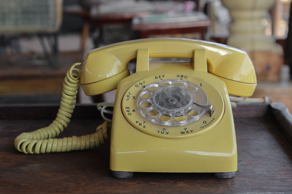 Rotary dial telephone, undated | Licensed under CC0, St. George News