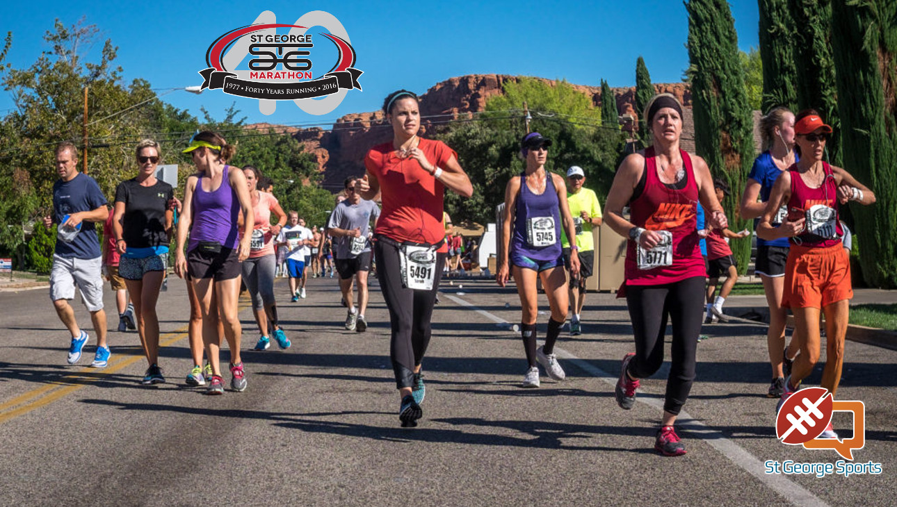 The 2016 St. George Marathon, St. George, Utah, Oct. 1, 2016 | Photo by Dave Amodt, St. George News