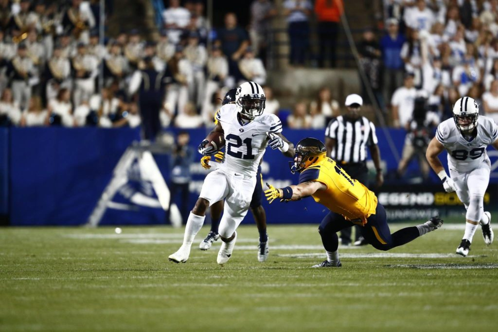 Jamaal Williams for the Cougars, Toledo vs. BYU, Provo, Utah, Sept. 30, 2006 | Photo by BYU Photo
