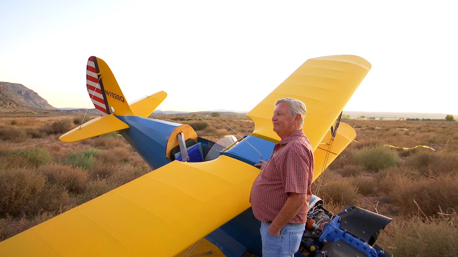 """A pilot crashed his recently-purchased 2006 Buddy Baby Lake fixed-wing, single-engine airplane while attempting a """"main-wheel takeoff"""" takeoff at the Hurricane City Airport, 800 W. 2300 South, Hurricane, Utah, Nov. 10, 2016 