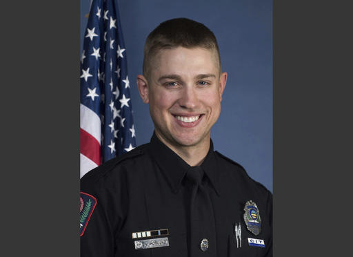 This undated image provided by the Ohio State University Police shows officer Alan Horujko. A Somali-born Ohio State University student plowed his car into a group of pedestrians on campus and then got out and began stabbing people with a knife Monday, Nov. 28, 2016, before he was shot to death by a police officer. The officer who gunned the attacker down was identified Horujko, a nearly two-year member of the force. | Ohio State University Police via AP, St. George News