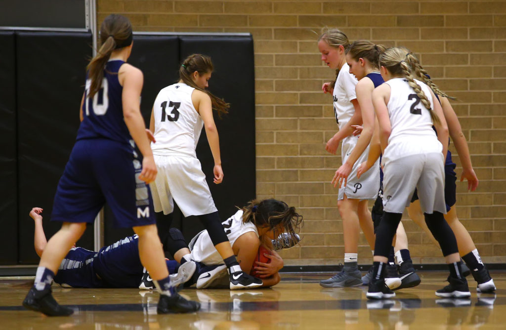 Pine View vs. Millard, Girl's Basketball, St. George, Utah, Nov. 22, 2016, | Photo by Robert Hoppie, ASPpix.com, St. George News