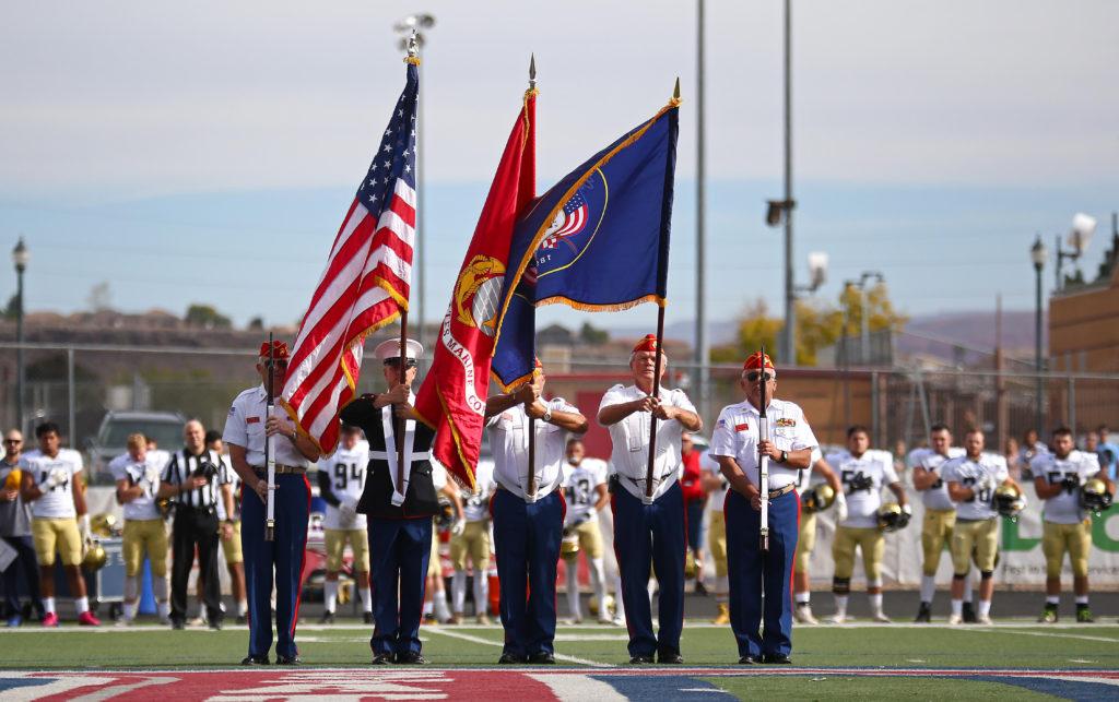 Dixie State University vs. Fort Lewis University, St. George, Utah, Nov. 12, 2016, | Photo by Robert Hoppie, ASPpix.com, St. George News