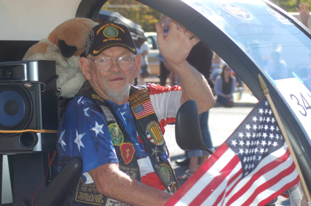 Members of the Vietnam Veterans of America Southern Utah, Chapter 961 participate in the Veterans Day Parade, Washington City, Utah, Nov. 11, 2016 | Photo by Hollie Reina, St. George News