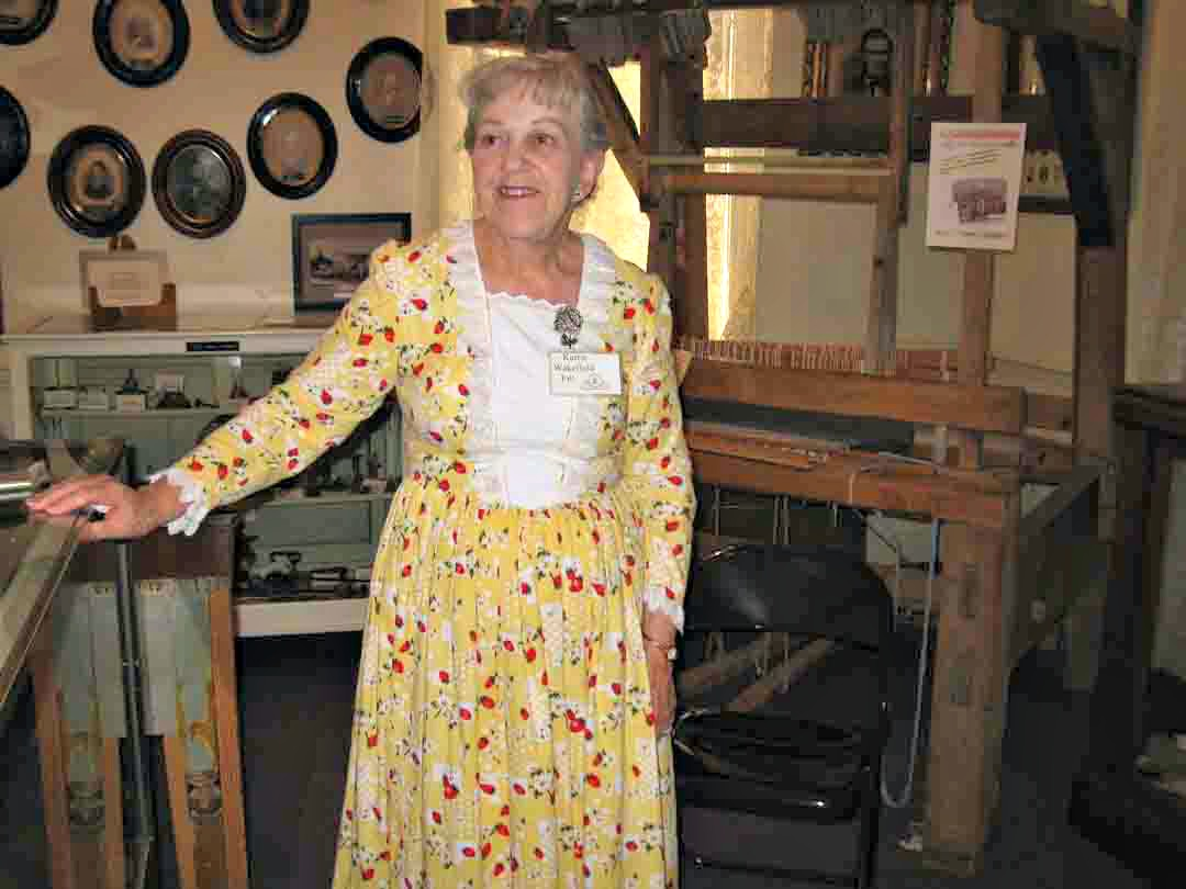 Fashions from the 1880s will be on display at the McQuarrie Memorial Museum,