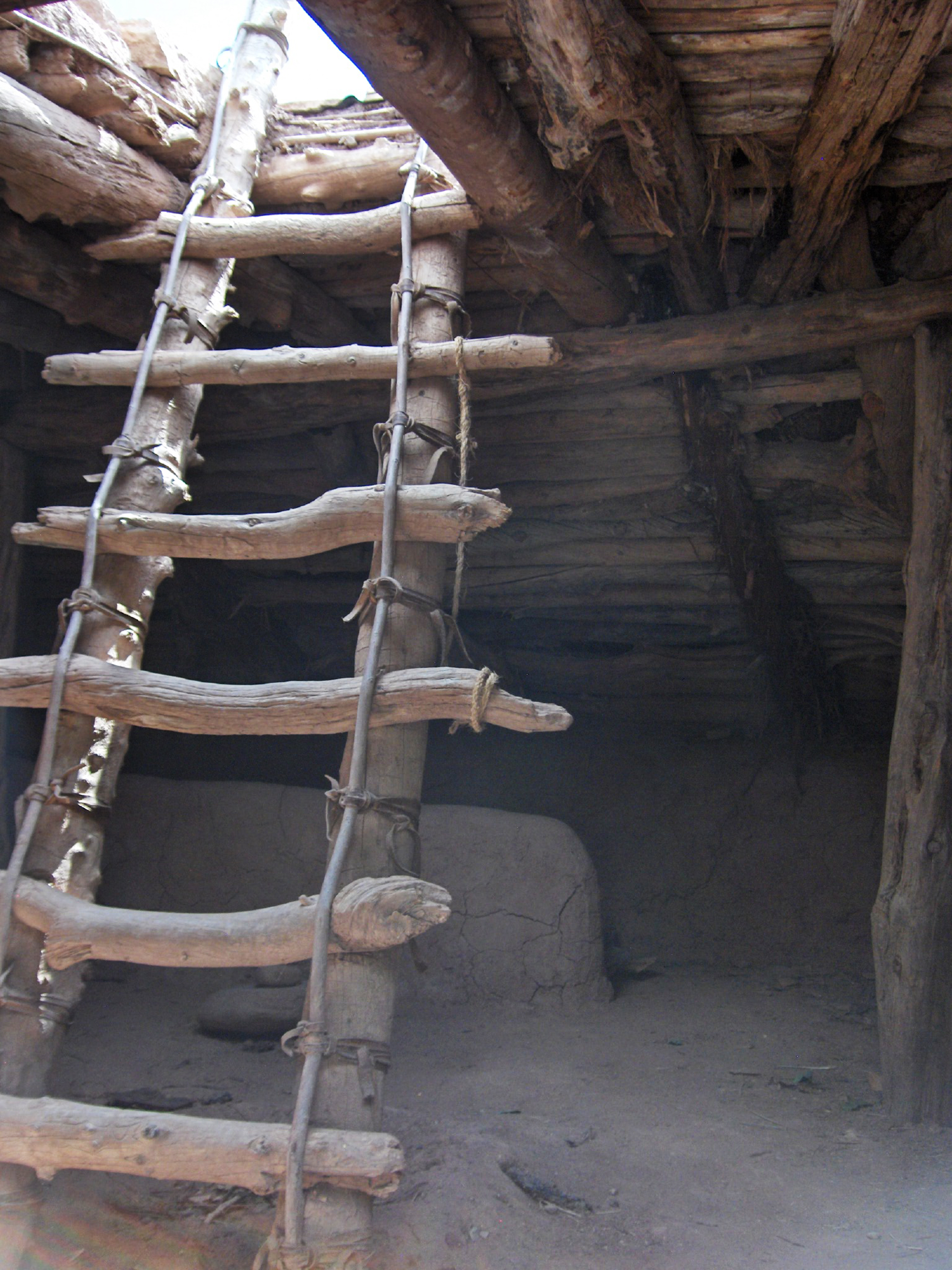 Interior of pithouse, part of Native Heritage Exhibit, Frontier Homestead State Park Museum, Cedar City, Utah, date not specified | Photo courtesy of Frontier Homestead State Park Museum, St. George News / Cedar City News