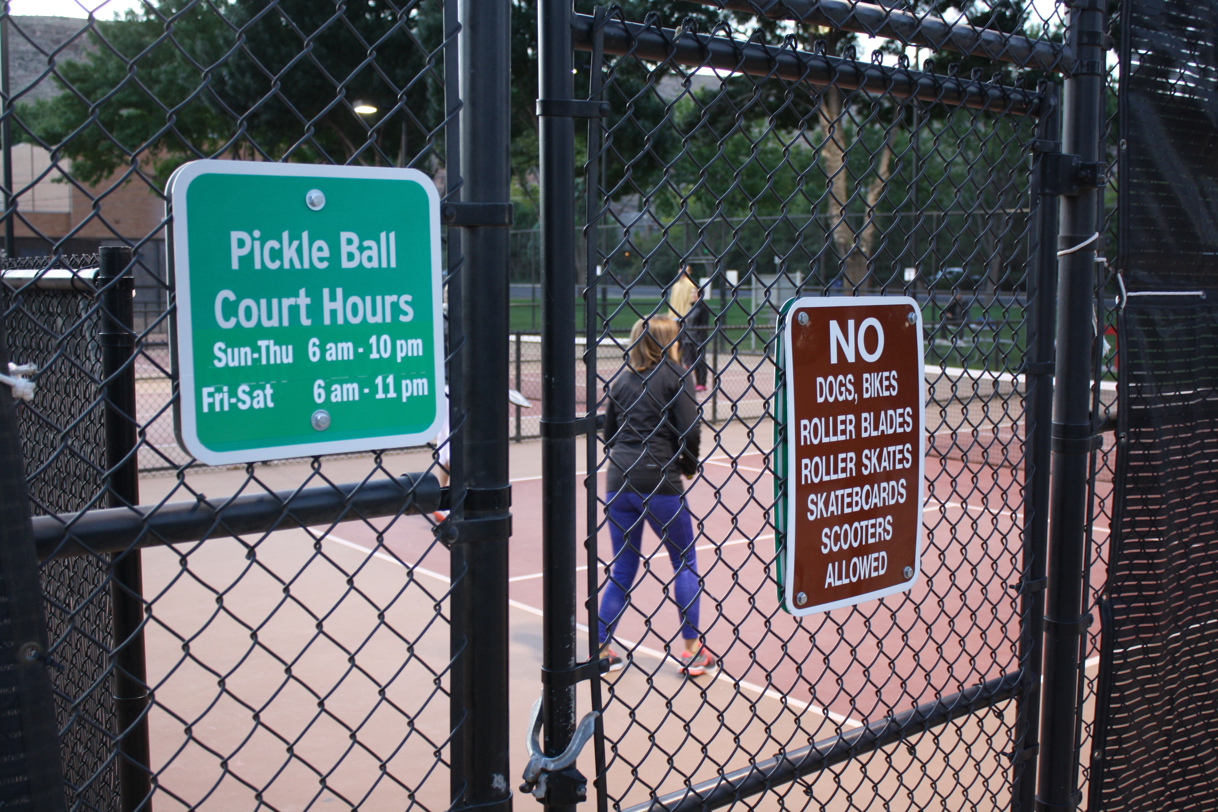 Players enjoy games of pickleball at the Hurricane pickleball courts, Hurricane, Utah, Oct. 7, 2016 | Photo by Reuben Wadsworth, St. George News
