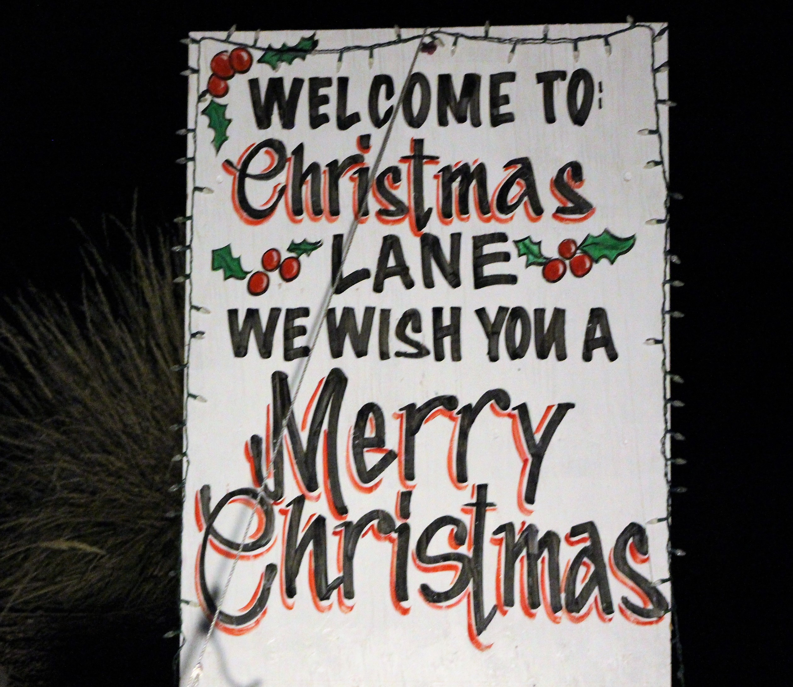 Christmas Lane turned on their lights Thanksgiving Weekend for the holidays. Cedar City, Utah, Nov. 26, 2016 | Photo by Tracie Sullivan, St. George / Cedar City News
