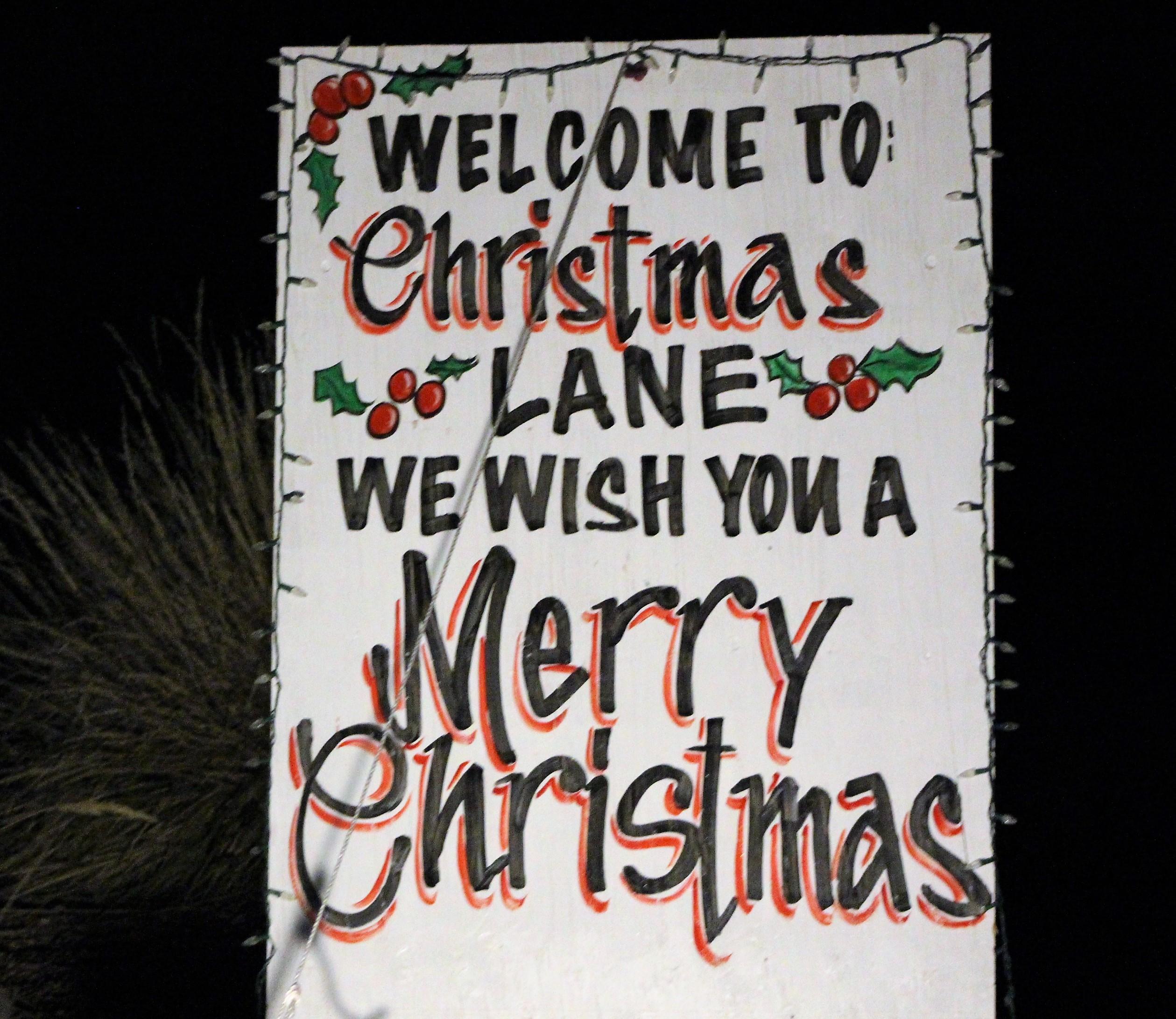 Christmas Lane turned on their lights Thanksgiving Weekend for the holidays. Cedar City, Utah, Nov. 26, 2016 | Photo by Tracie Sullivan, St. George / Cedar City News
