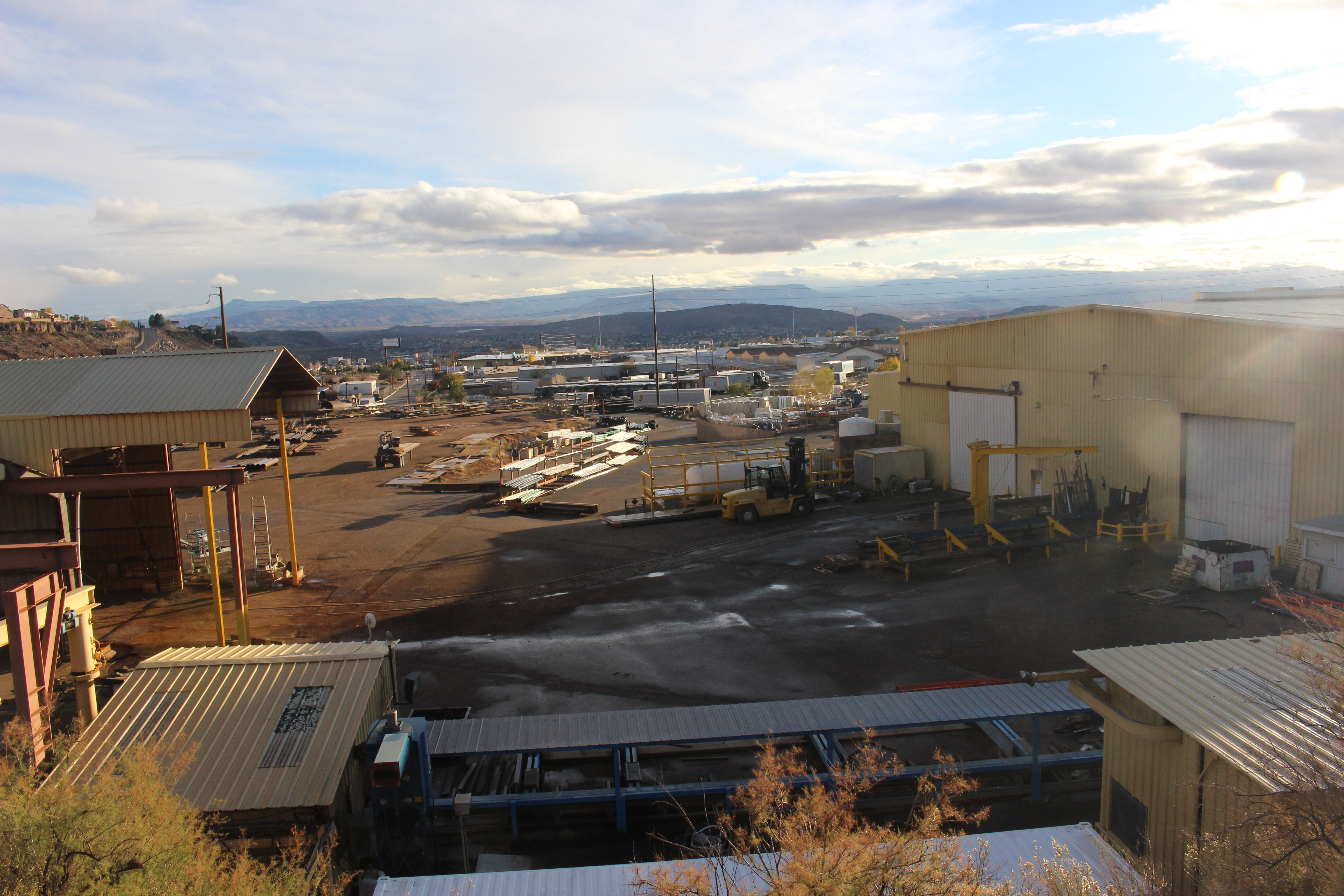Express Metals Fabricators St. George Steel Division closes after its parent company, Express Group Holdings, filed for bankruptcy, St. George, Utah, Nov. 27, 2016 | Photo by Joseph Witham, St. George News
