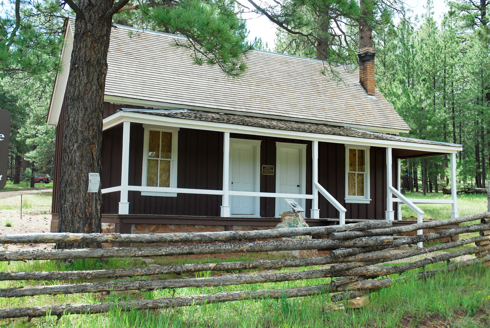 Jacob Lake ranger station, Kaibab National Forest, Arizona, undated. | Photo courtesy of U.S. Forest Service, Southwestern Region, Kaibab National Forest, St. George News
