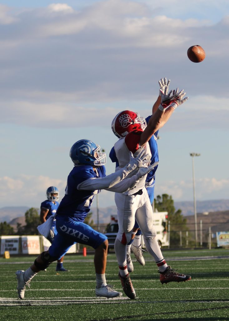 Dixie vs Bear River, Football, St. George, Utah, Nov. 04, 2016, | Photo by Kevin Luthy, St. George News