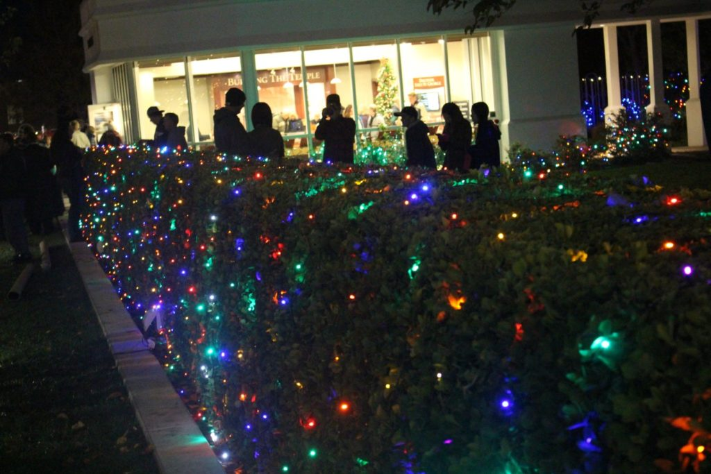 at the annual christmas lighting program - How To Program Christmas Lights