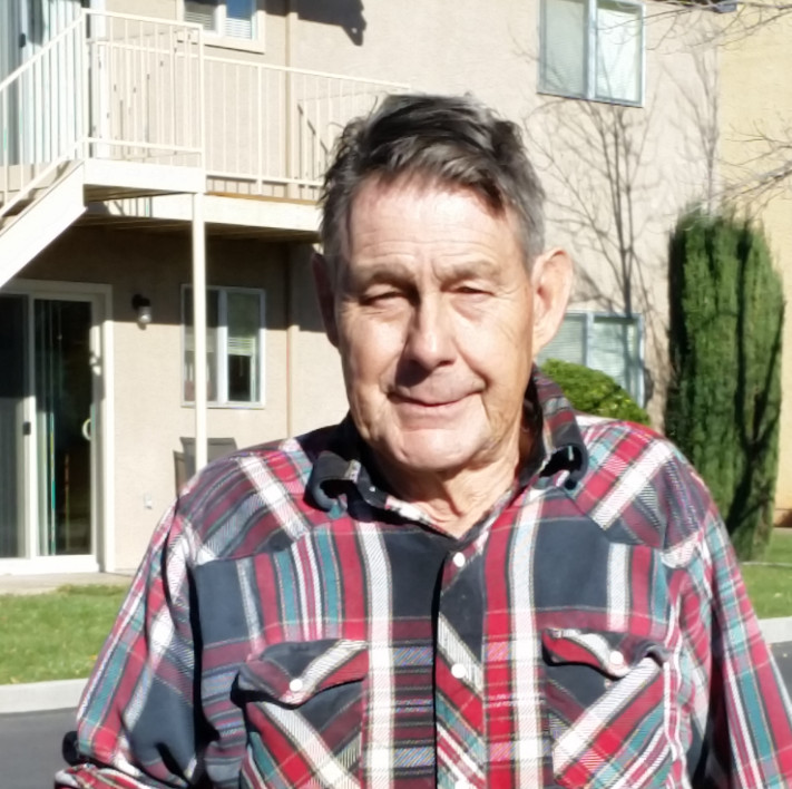 St. George resident Pearson Davis's three-wheeled bicycle was stolen Monday; local residents and others have already funded a replacement for him, St. George, Utah, Nov. 30, 2016 | Photo courtesy of Dean Rein, St. George News