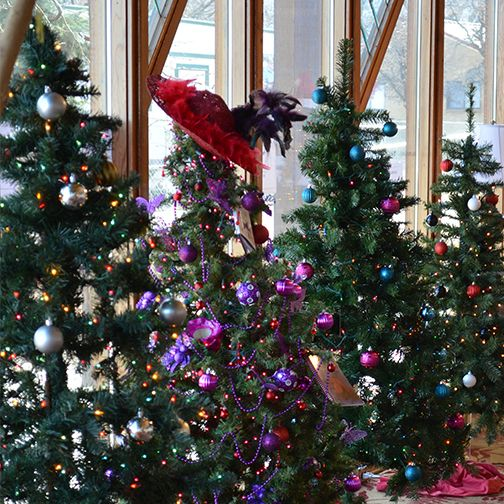 Trees from the 2015 Festival of Trees, undated | Photo courtesy of Ashley Pollock, St. George News / Cedar City News