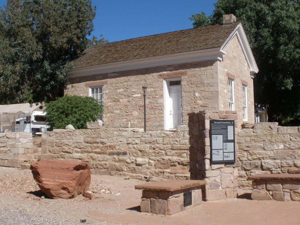 The old Mormon Tithing House is part of a unique home tour in Leeds, Utah, date not specified | Photo courtesy of Silver Reef Museum, St. George News