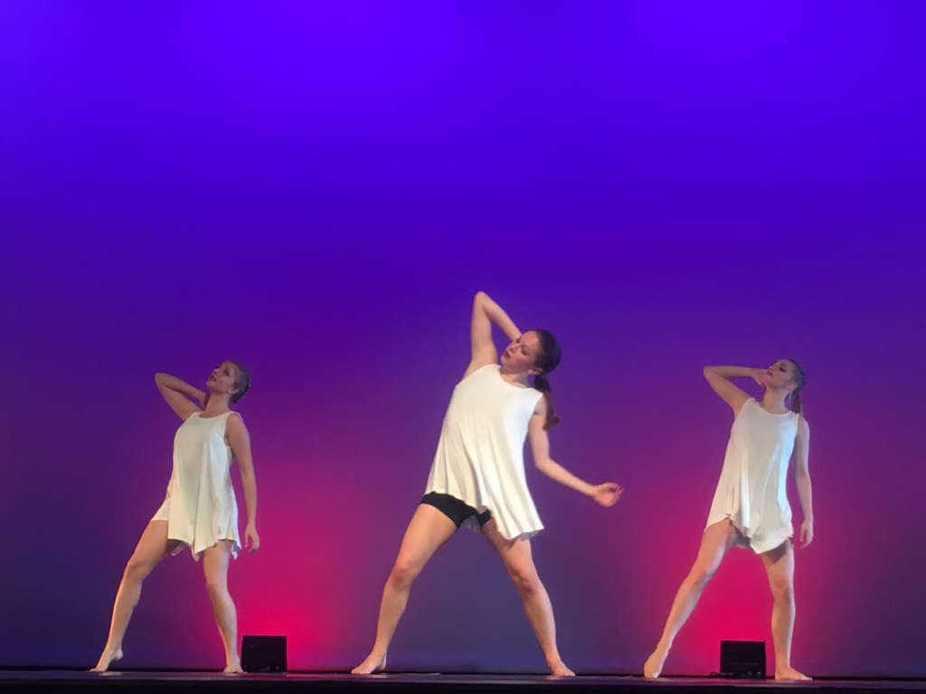 """Tuacahn High School Dance Company members perform a number from the """"Boundless"""" fall dance concert at Tuacahn High School, Ivins, Utah, Nov. 11, 2016   Photo by Hollie Reina, St. George News"""