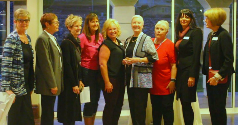 Dove Center board members gather for a group picture at the annual awards event held at The Falls Event Center in St. George, Utah, Nov. 15, 2016 | Photo by Cody Blowers, St. George News