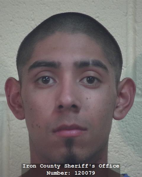 Ismael Lopez of Cedar City is charged with attempted homicide and aggravated burglary in a Sunday morning home invasion stabbing. Cedar City, Utah, November 6, 2016 | Booking photo courtesy of Iron County Sheriff's Office, St. George News