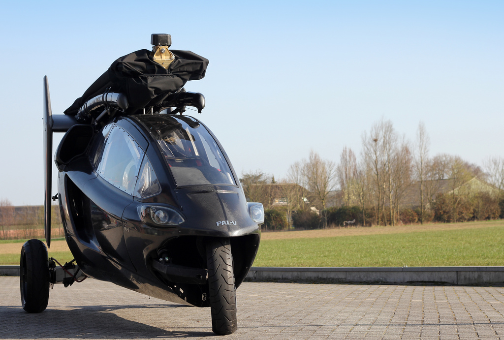 The PAL-V prototype flying car in road position. The company has opened up a flight school in Roosevelt to train people who have committed to buy the vehicle when it is released. The Netherlands, undated | Photo courtesy of www.pal-v.com, St. George News