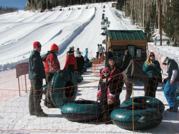 Families enjoy tubing at Brian Head Resort. Utah, unspecified date | Photo courtesy of Jason Flicker