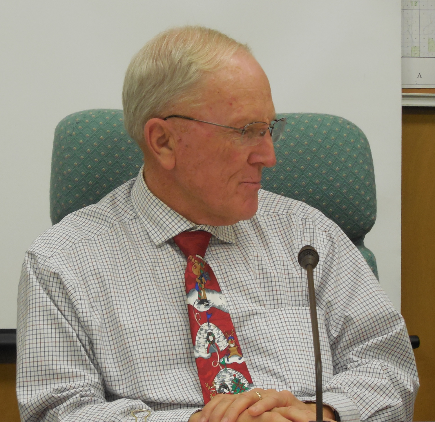 Washington County Commissioner Alan Gardner is retiring from the County Commission, St. George, Utah, Dec. 21, 2016 | Photo by Julie Applegate, St. George News
