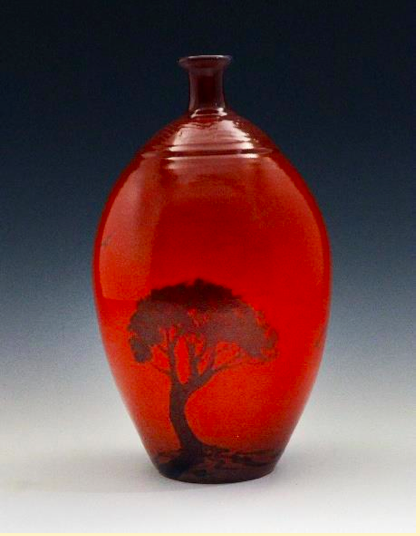 Pottery by Glen Blakely, date of photo unspecified | Photo courtesy of Glen Blakely, the Arrowhead Gallery, St. George News