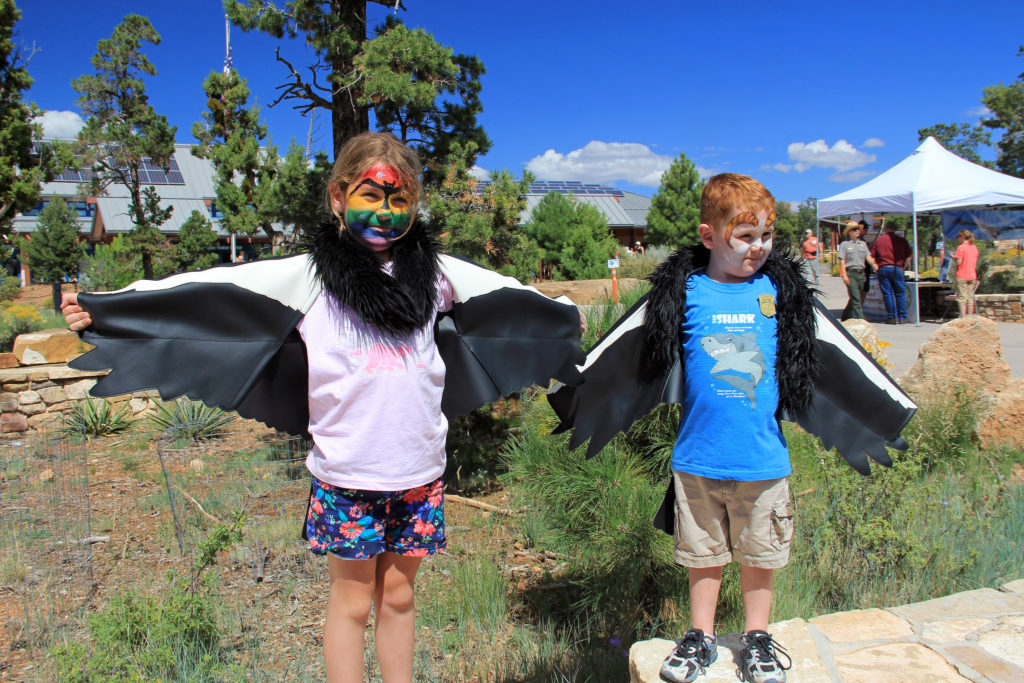 Family-friendly activities and games took place during Grand Canyon National Park's 7th Annual Celebrate Wildlife Day. Celebrate Wildlife Day provides opportunities for park visitors and residents to learn about the work of wildlife biologists and about the unique wildlife found in Arizona and the Grand Canyon area, Grand Canyon, Ariz., Sept. 13, 2014 | National Park Service photo by Erin Whittaker, St. George News