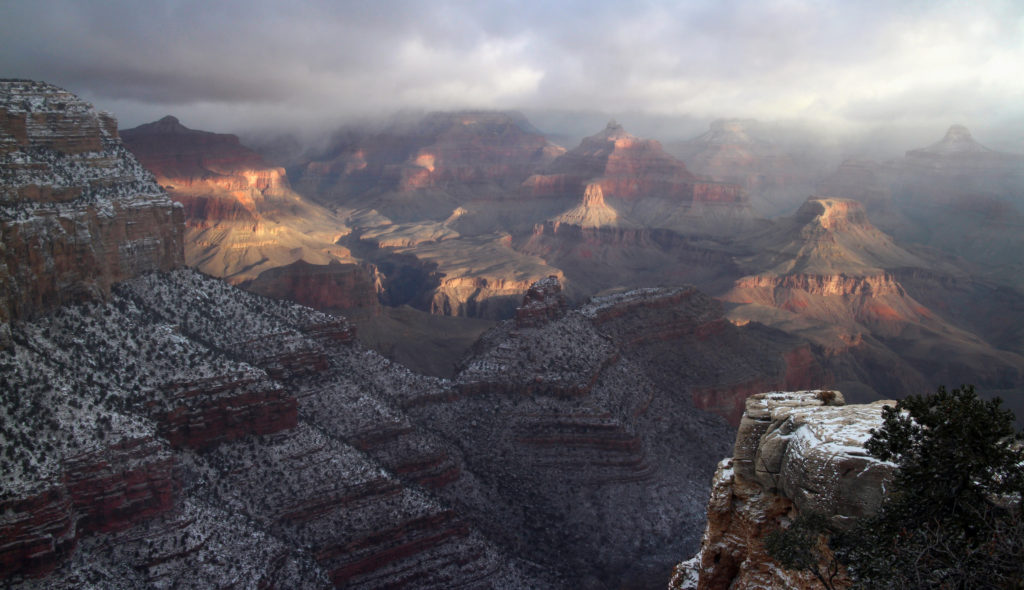 View from the South Rim Historic District, Grand Canyon, Ariz., Dec. 25, 2015 | National Park Service photo by M. Quinn, St. George News